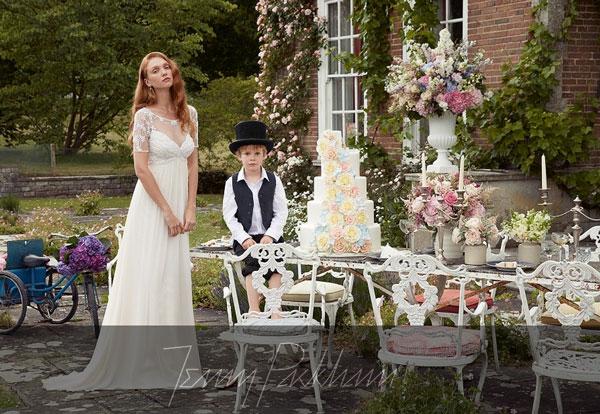 vestidos de novia: jenny packham - perlas y coco