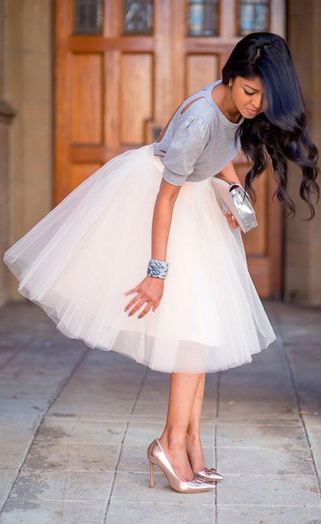 Faldas de tul perlas y coco for Ze kitchen galerie dress code