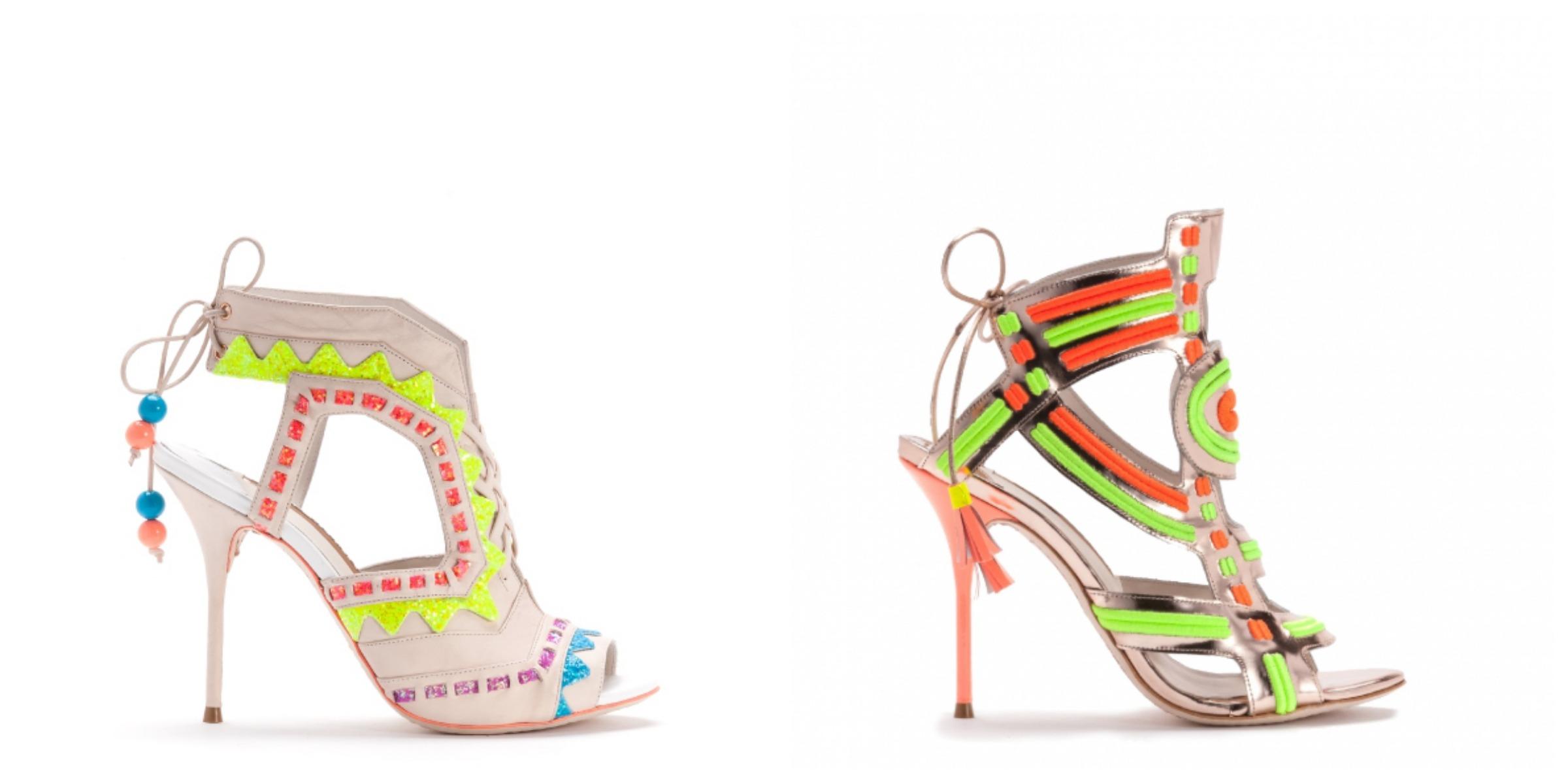 3e4996985 Los zapatos de Sophia Webster • Perlas y Coco