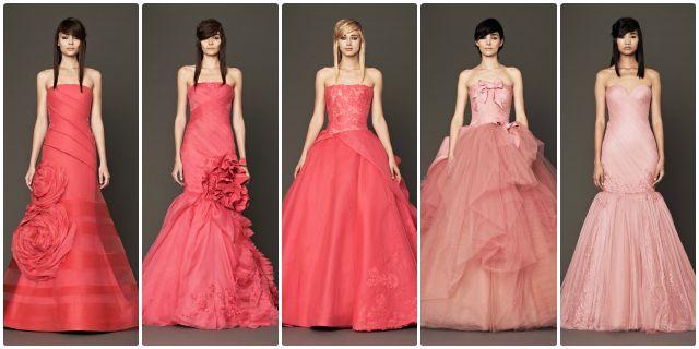 El rosa es el nuevo blanco para las novias - Perlas y Coco