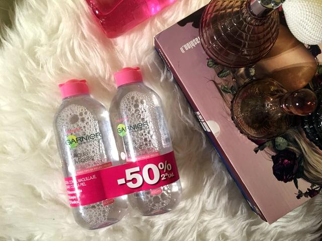 agua micelar oferta 50%