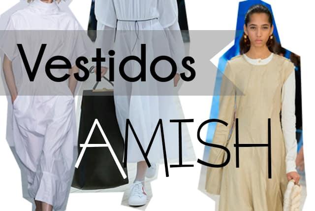 tendencias ss17: vestido amish - perlas y coco