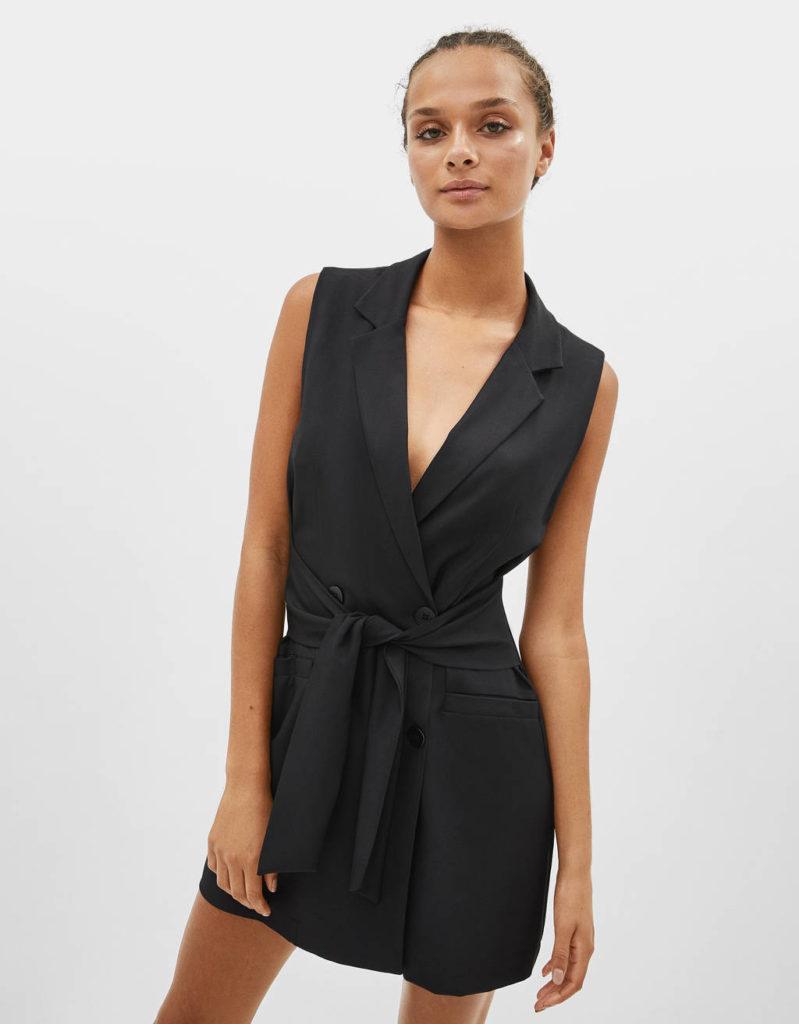 Blazer tipo vestido BSK