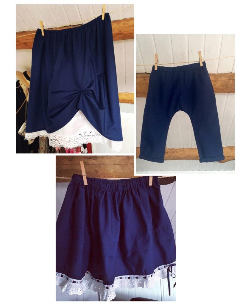 Faldas y pantalones marineros para el día de El Carmen
