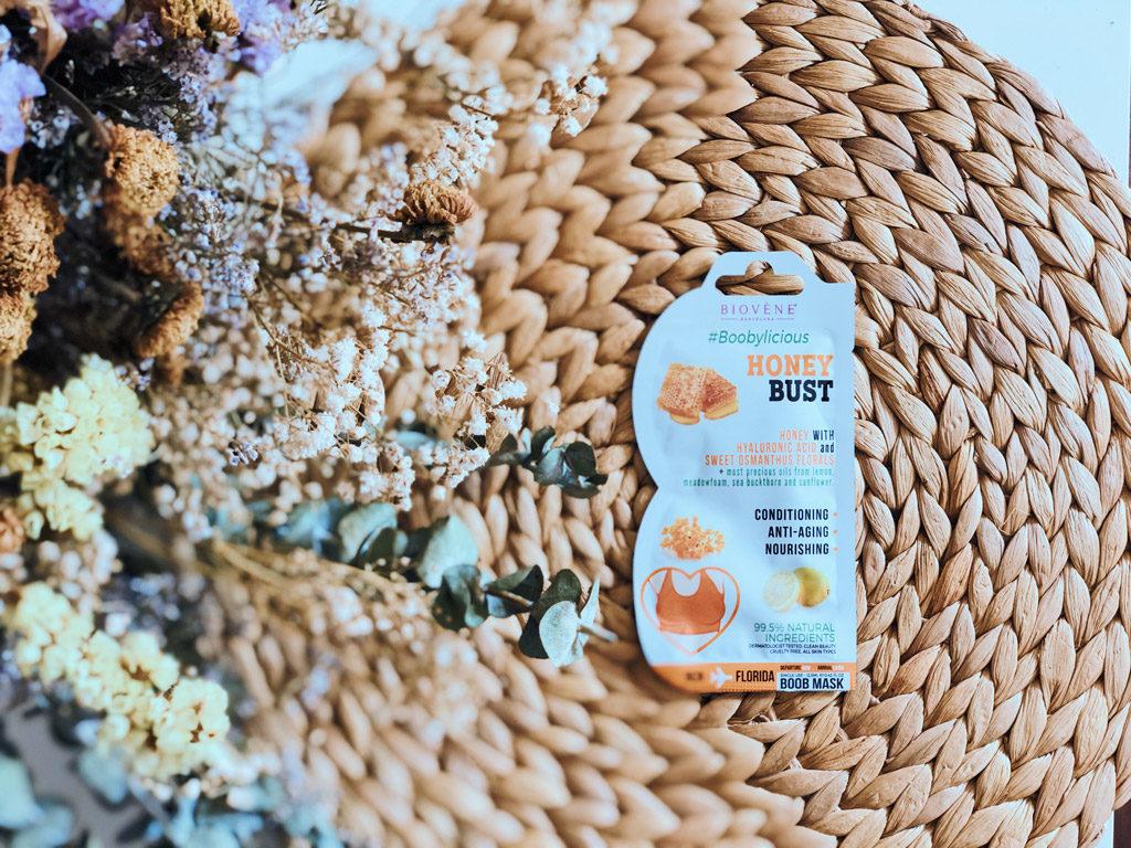 Honey bust mascarilla para el busto de la marca Biovene Barcelona