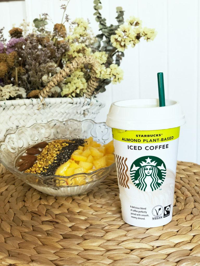 Café de la marca Starbucks variedad Chilled Classic sabor Almond Ice Coffe