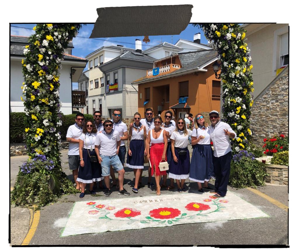 Día de El Carmen en Tapia