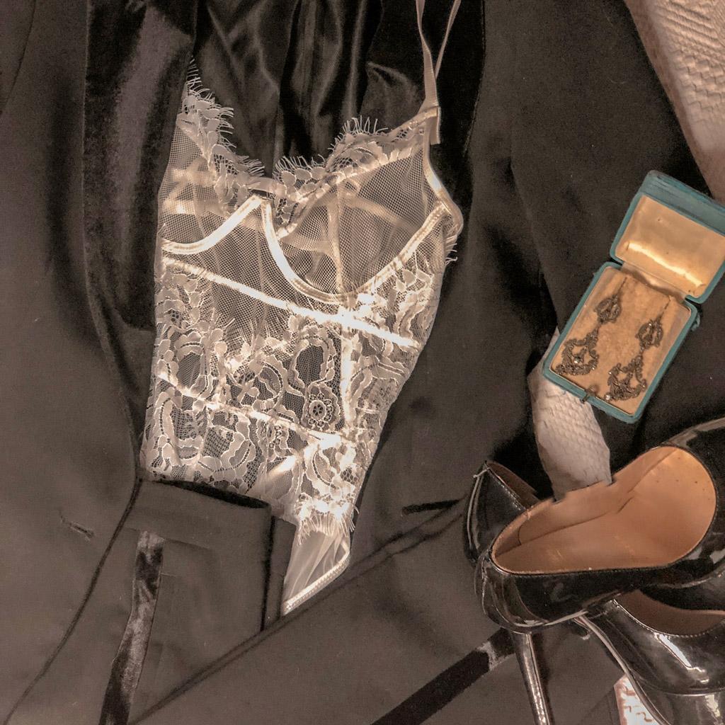 Lace body de Femme Luxe