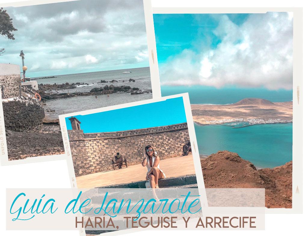 Guía de Lanzarote. Haría, Teguise y Arrecife