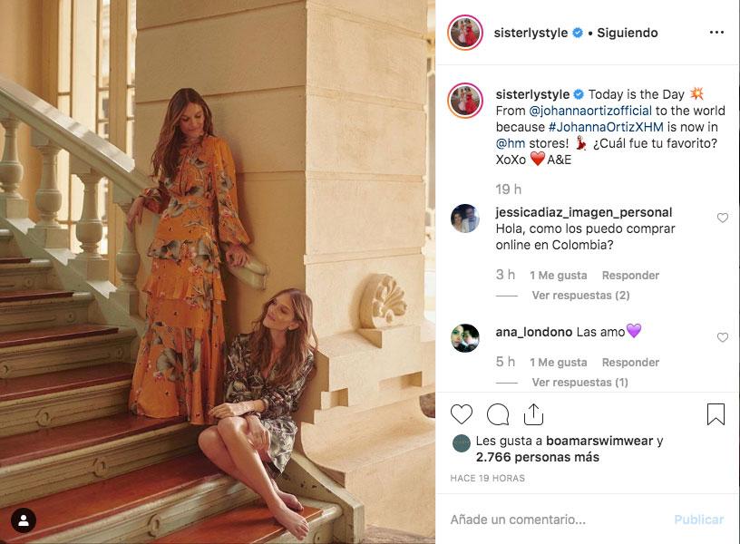 Sisterly Stye con los vestidos de Johanna Ortiz